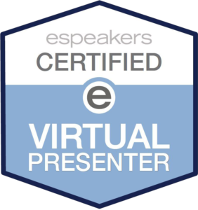 Virtual Presenter Badge for website