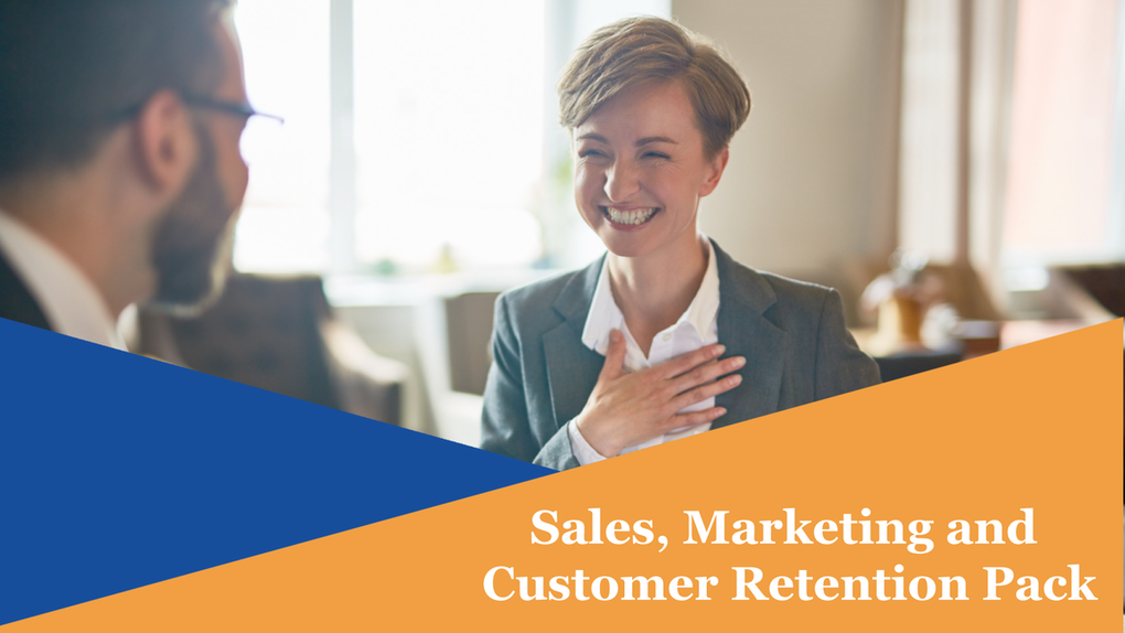 Sales, Marketing and Customer Retention Pack Online